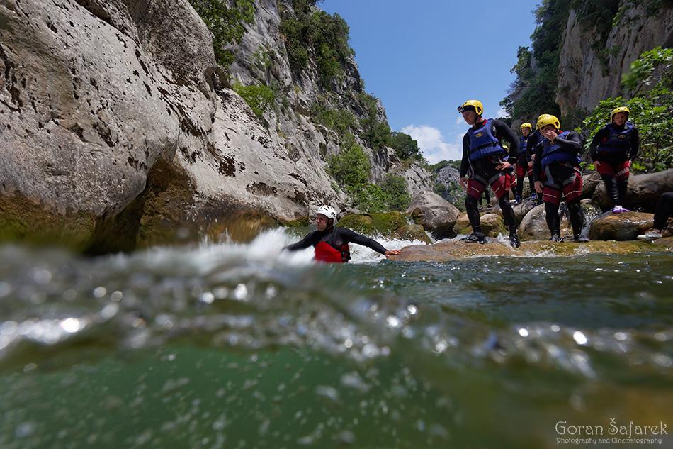 cetina,kanjon,avantura,canyoning,rafting