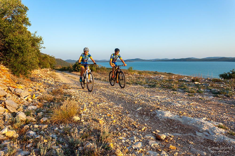 vransko jezero, dalmacija, vrana, biciklizam, biciklistička staza
