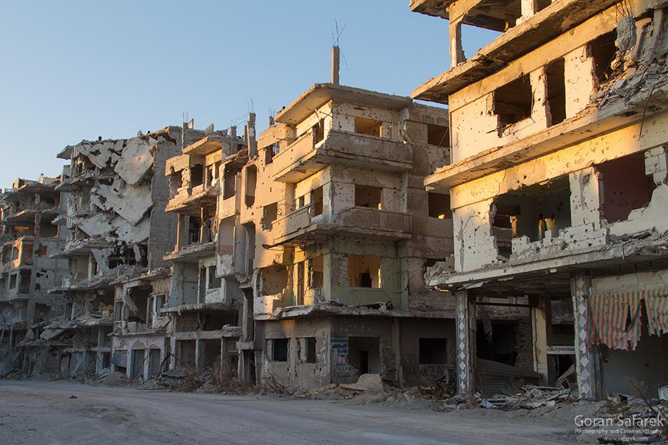 Homs, Sirija, rat